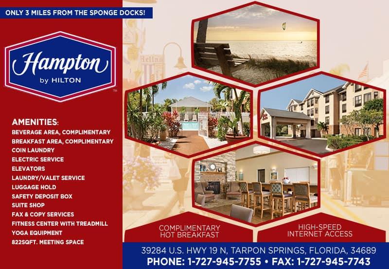 Modern Tarpon Springs Hotel