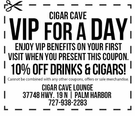 cigar cave coupon