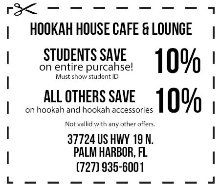 hookah house coupon