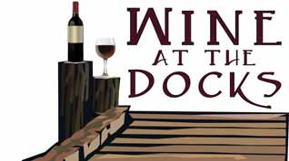 wine at the docks logo