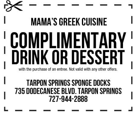 Mamas Greek Cuisine Coupon