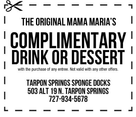 The Original Mama Maria's Coupon