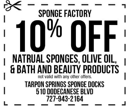 Sponge Factory Coupon