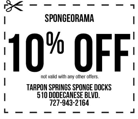 Spongeorama Coupon