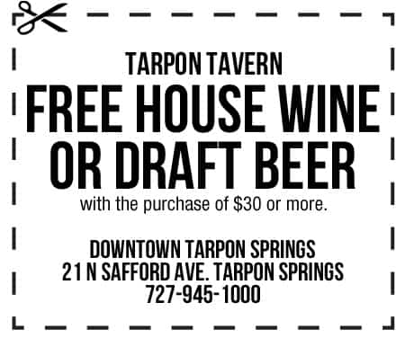 Tarpon Tavern Coupon
