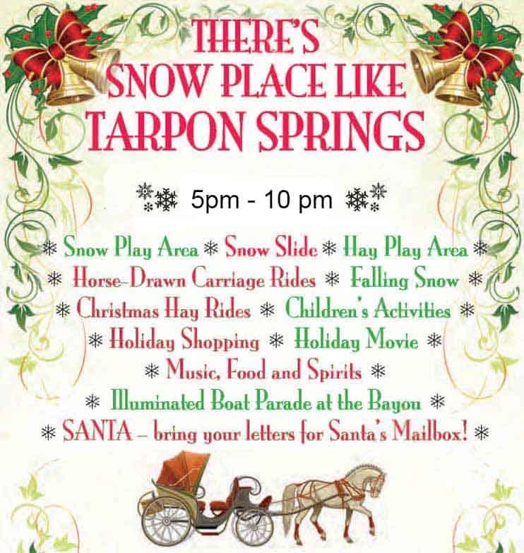 2020 Tarpon Springs Christmas Event