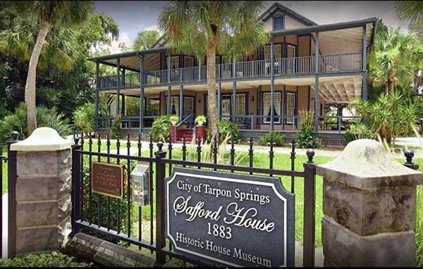 Safford House Museum Tarpon Springs