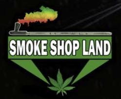 Smoke Shop Land Logo