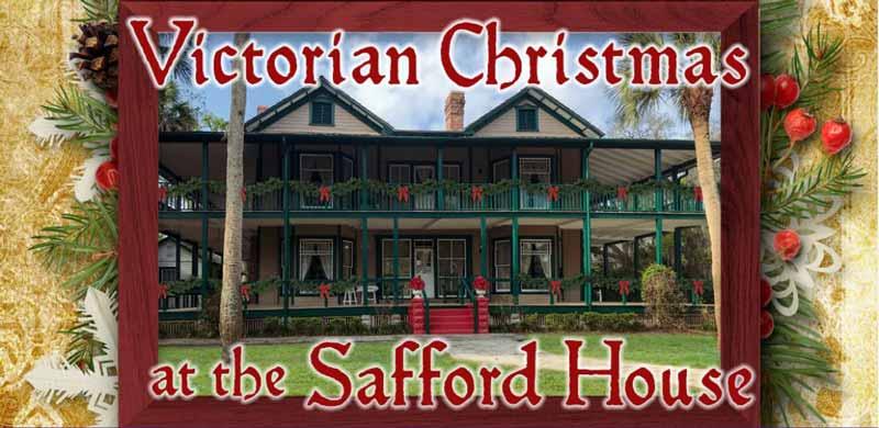 Safford House Victorian Christmas