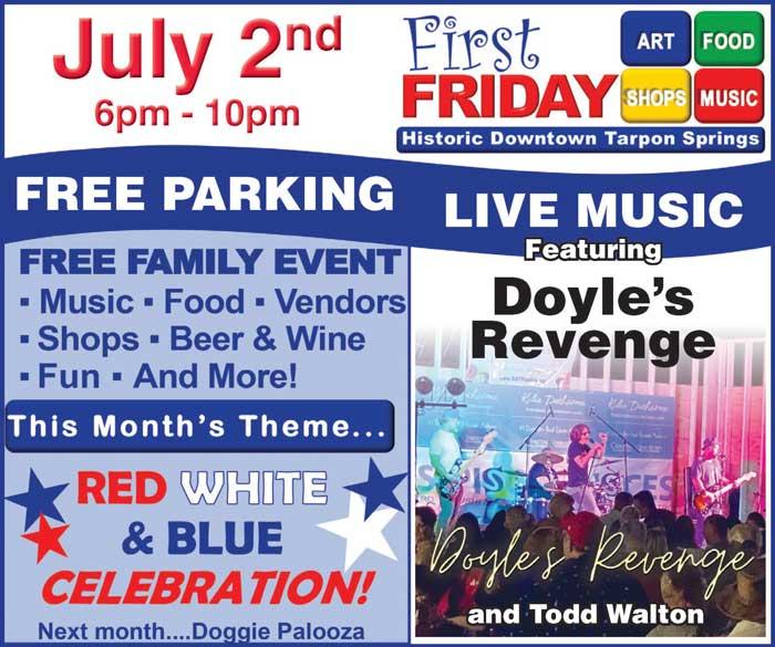 1st Friday Tarpon Springs
